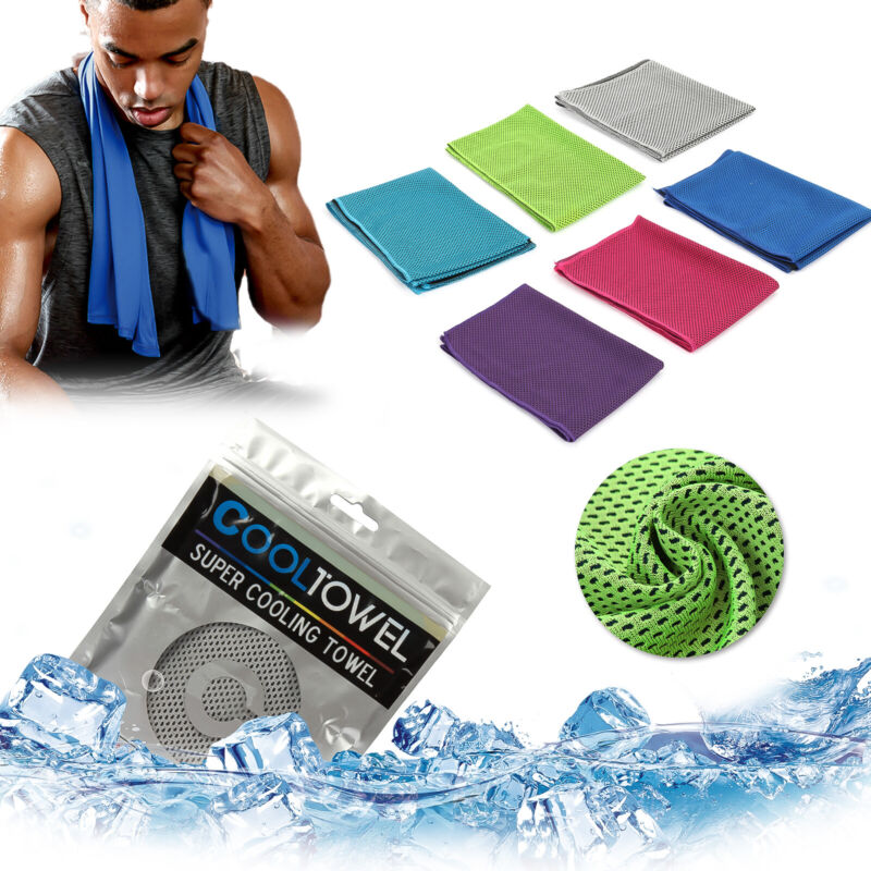 Buy 3 get 3 free Ice Cooling Towel for Sports/Workout/Fitness/Gym/Yoga/Camping