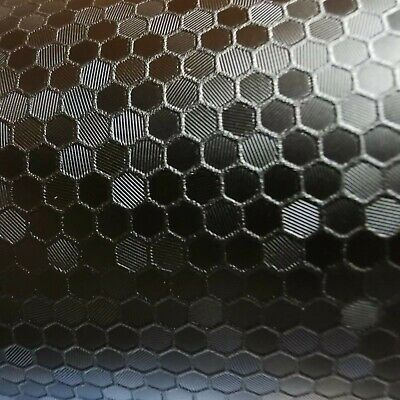 Oracal 975 HC Honeycomb Schwarz Metallic 10 cm x 152 cm Autofolie Car Styling