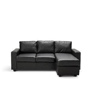 <BRAND NEW>OLIVIA 3 Seater L Shape Lounge Modular PU Leather Sofa Melbourne CBD Melbourne City Preview