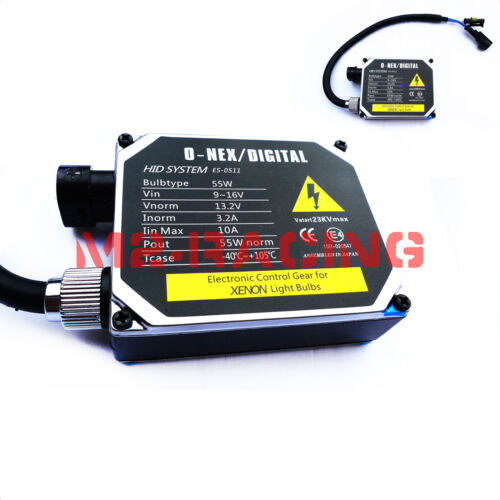 1 ONEX 55w Heavy Duty HID POWER BALLAST ONLY Spare Headlight Conversion Light
