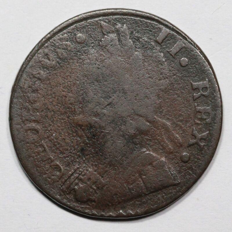 1747 Machins Mills 1/2 Penny