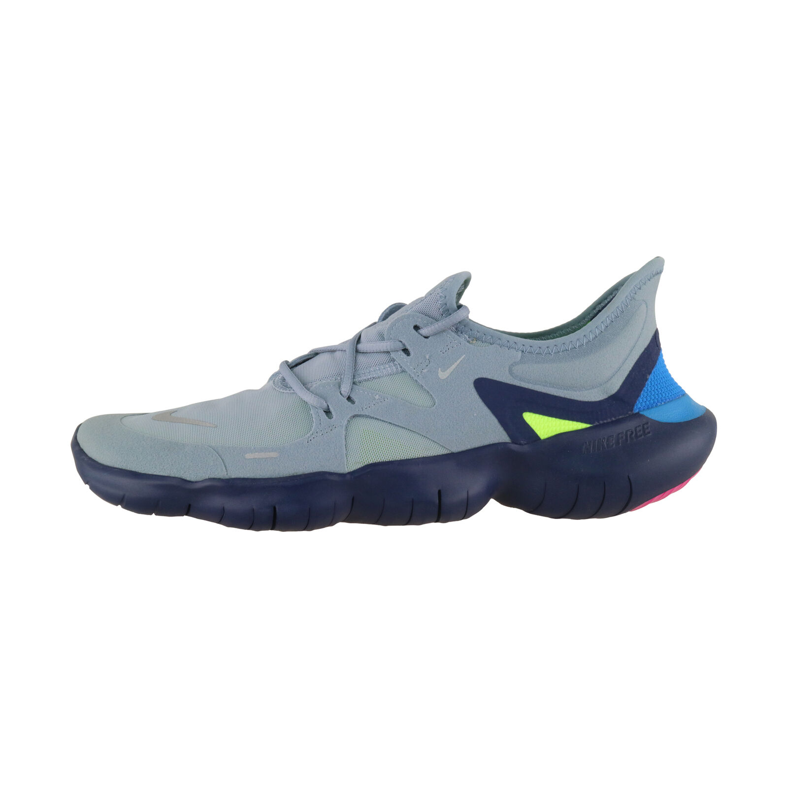 Détails sur Nike Free Rn 5.0 Gris Homme Bleu Loisir et Trainingsschuh AQ1289 400