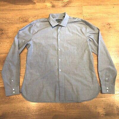 John Varvatos Shirt Slim Fit Grey XL