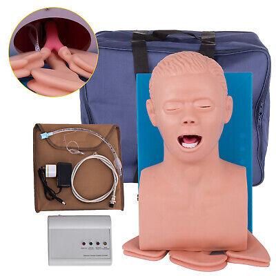 Intubation Manikin Study Teaching Model Adult Airway Management Trainer 110v
