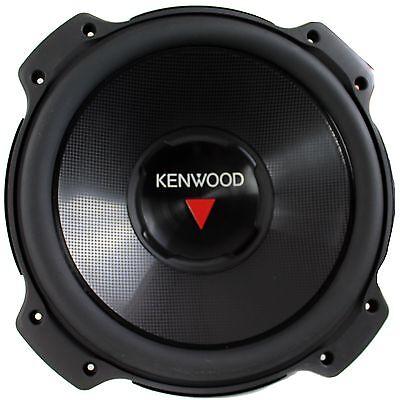 Kenwood 10 Inch 1300 Watt 4 Ohm Car Audio Power Stereo Subwo