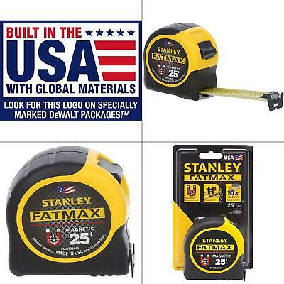 Stanley FMHT33865S FATMAX 25' Magnetic Tape