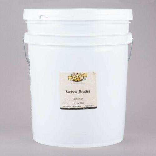 5 Gallons Golden Barrel Kosher Sulfur-Free Blackstrap Molasses