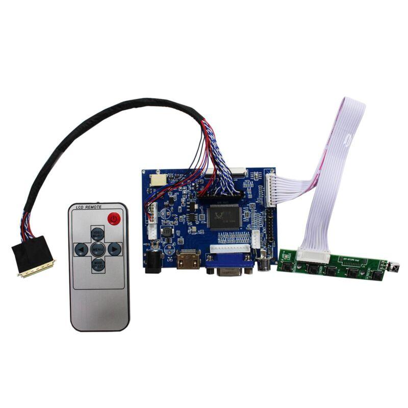 "HDMI VGA AV LCD Controller Board For 15.6"" 1920x1080LP156WF1 TL B156HW01 LCD"