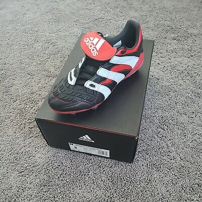Adidas Predator Accelerator Remake 2018 Black Red White Size US 9 Soccer Cleats