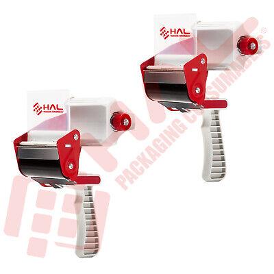 2 Pack -tape Dispenser 3 Inch Tape Gun Grip Heavy Duty Packaging By Hal
