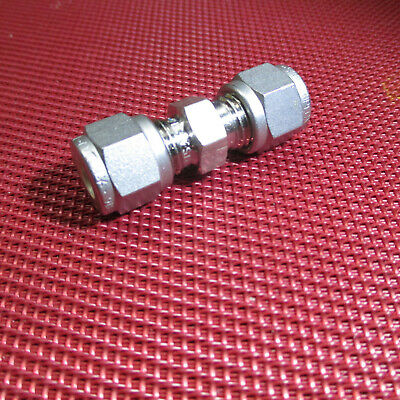 Ssp Griplok 14 X 14 Tube Od Union Straight Compression 316 Stainless Steel