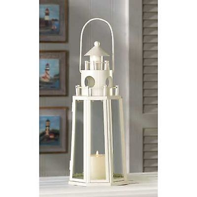 "10 Ivory Color Candle Lantern Wedding Centerpieces 13"" Tall  on Rummage"