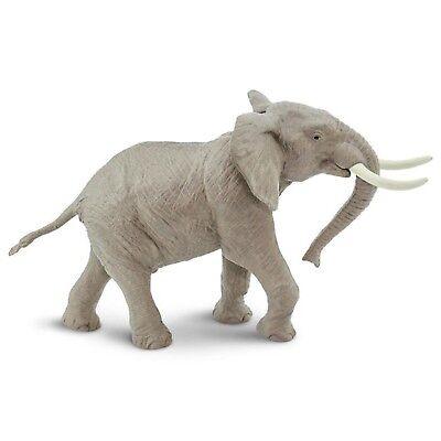 African Bull Elephant Wild Safari Animal Figure Safari Ltd NEW Toys Animals (Bull Animal Figure)