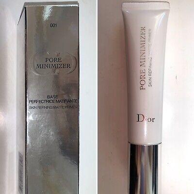 CHRISTIAN DIOR PORE MINIMIZER SKIN REFINING MATTE PRIMER 1 OZ ~ (Dior Pore Minimizer Skin Refining Matte Primer)