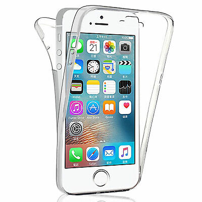 Für Apple iPhone 7 / 8 Handy Hülle Cover Case Tasche Full TPU Schutzhülle Klar   Klar 7