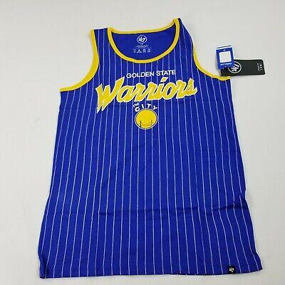 NBA Golden State Warriors Men's Pinstripe Tank Top, Large, New jersey  ff a