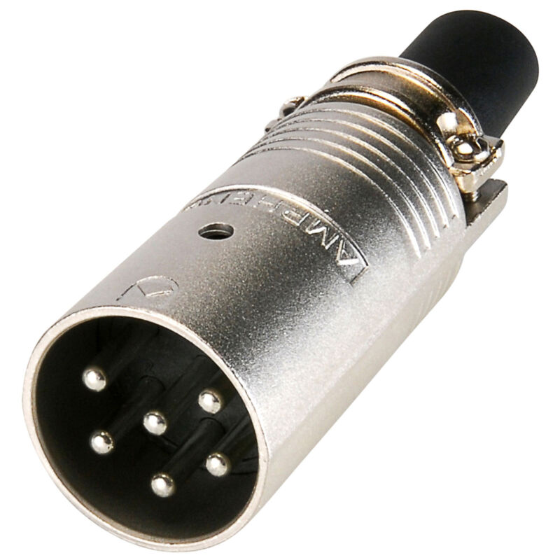 Amphenol EP-6-12 6-Pole EP Male Cable Connector