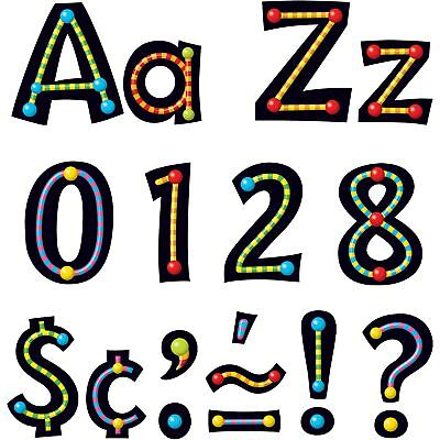 Trend Ready Letters Alphabeads Design 4 Assorted Letters/Color 79755