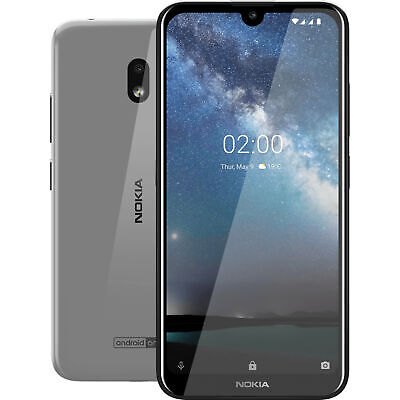 Android Phone - Nokia 2.2 TA-1179 32GB GSM Unlocked Android Phone - Steel