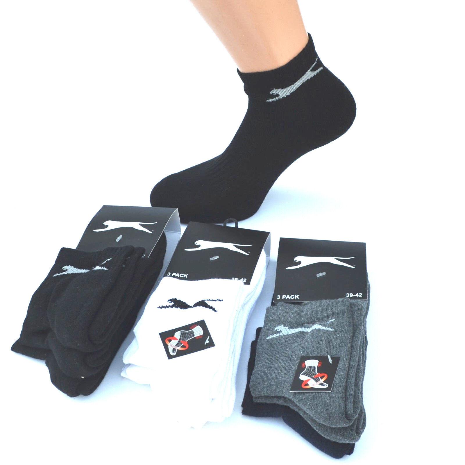 Slazenger Laufsocken Sportsocken Running Quaters Socks Socken 35-46 Herren Damen