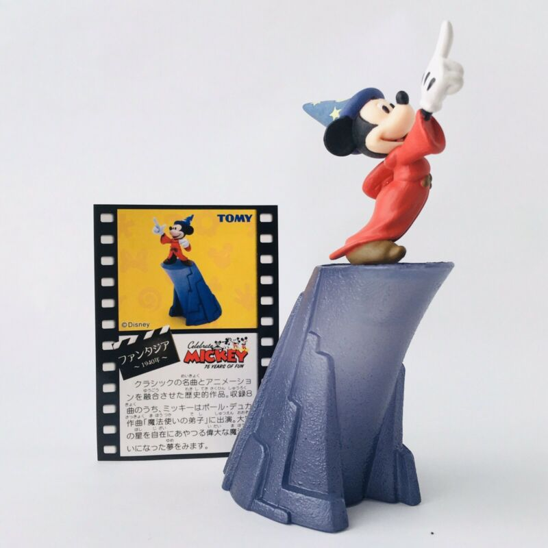 Disney Fantastic Gallery Mickey Mouse Fantasia Figure Disney Japan TOMY