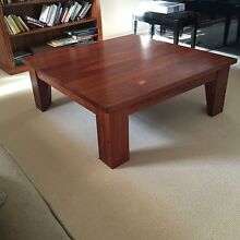 Beautiful solid Jarrah coffee table 1 metre square. Bargain $275 Wembley Downs Stirling Area Preview