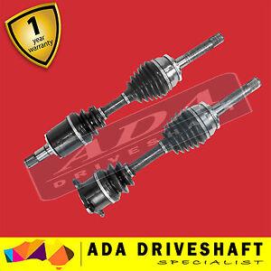 2 New CV Joint Drive Shaft Mitsubishi Pajero NH NJ NK NL 5/91-1/00 Pair Manual