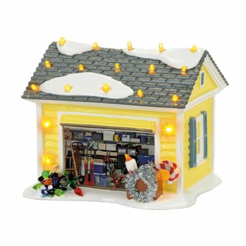 Dept 56 THE GRISWOLD HOLIDAY GARAGE Christmas Vacation Lampoons 4056686 House