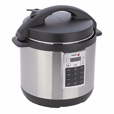 Stainless Steel 8 Quart Aluminum Pot Electric Pressure Cooker and Rice Cooker