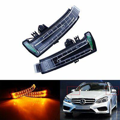 2X Außenspiegel Spiegelblinker Blinker L+R für Mercedes W212 S212 W176 W166 A207