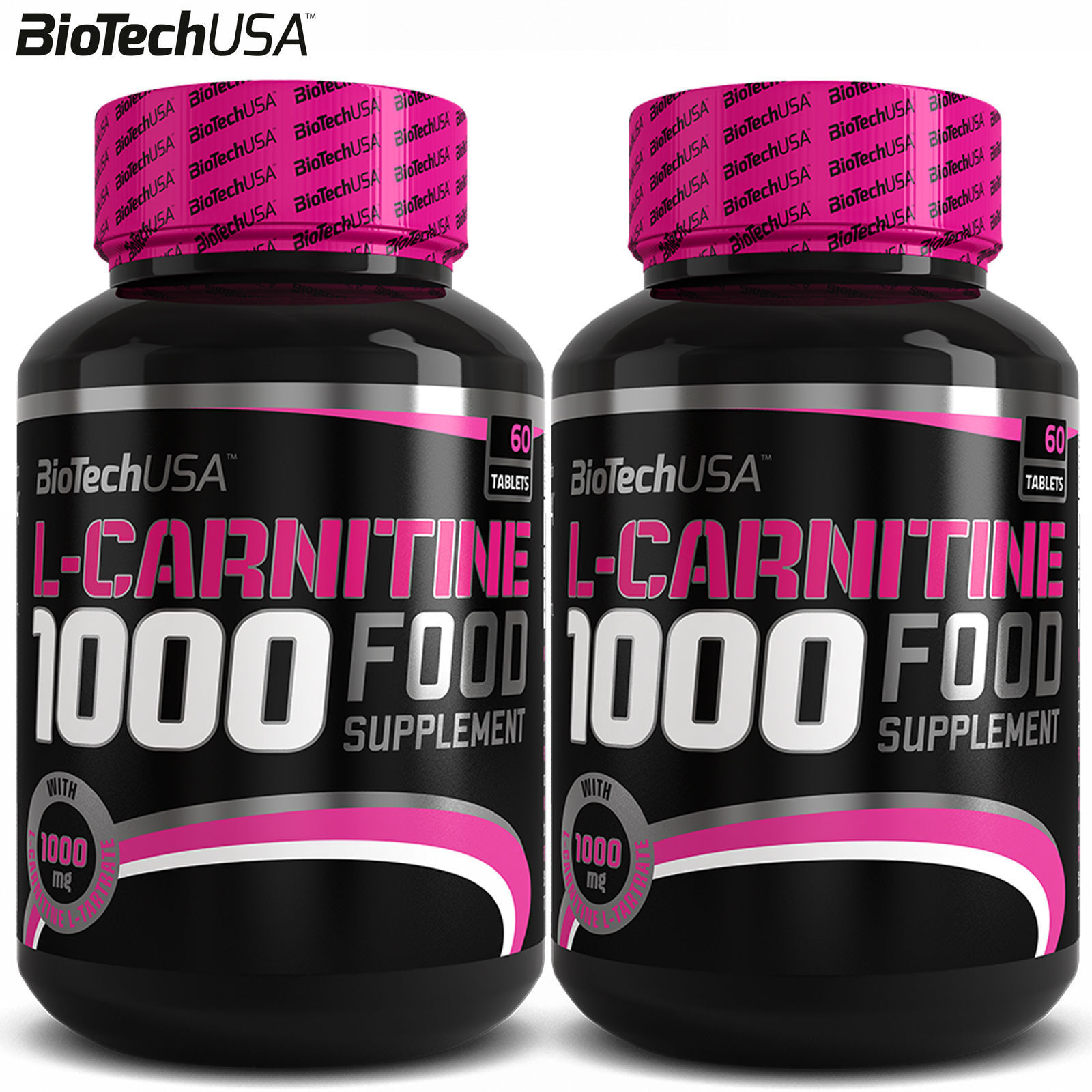 L-Carnitine 1000 60/120Tabl Fat Burner Slimming Weight Loss Management Reduction 1