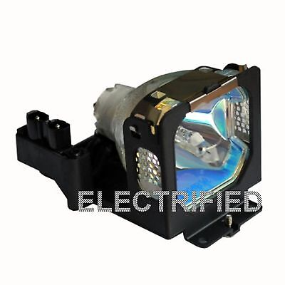 Sanyo 610-307-7925 6103077925 Lamp In Housing For Projector Model Plcxu25a