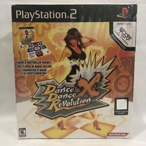 PS2 DDR Dance Dance Revolution X NEW