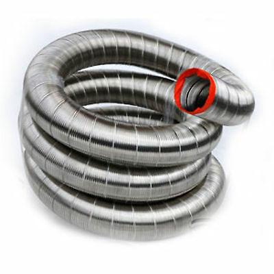 HomeSaver UltraPro 304 Stainless Steel Chimney Flue Liner (Only) - 6