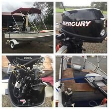 12ft Tinny with 4 stroke 5hp motor Wauchope Port Macquarie City Preview