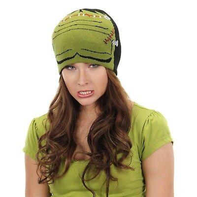 Adult Child Kids Dr. Frankenstein Monster Knit Beanie Halloween Costume Cap Hat ](Dr Frankenstein Costume Halloween)