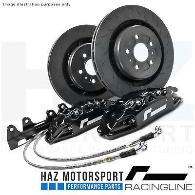 RacingLine Monoblock Performance Big Brake Upgrade Kit VW/Audi/Skoda/Seat BLACK