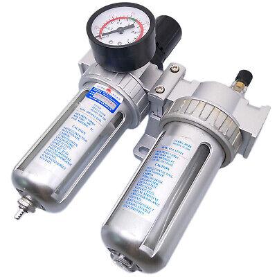 Us Stock Sfc-200 Pneumatic Air Filter Pressure Regulator Lubricator 14
