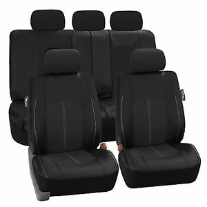 honda pilot leather seat covers ebay. Black Bedroom Furniture Sets. Home Design Ideas