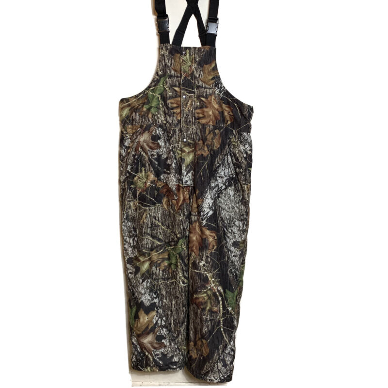 AGO All Game Outfitters 2XL Hunting Camo Bib Overalls Fleece Lined