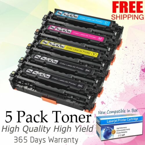 5pk ce410a toner for hp 305a color