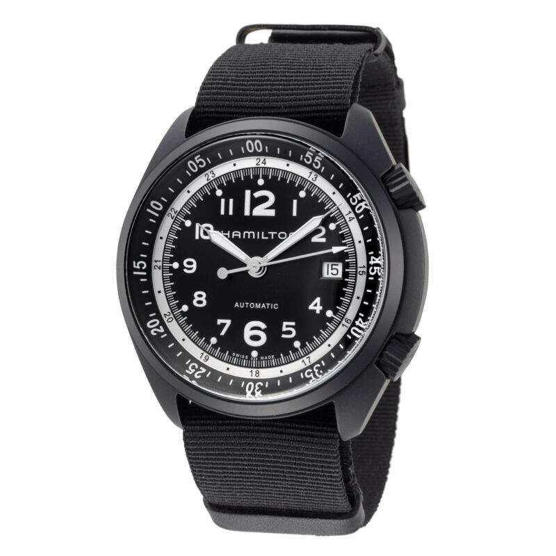 Hamilton Khaki Aviation Pilot Pioneer Auto Men Automatic Watch H80485835