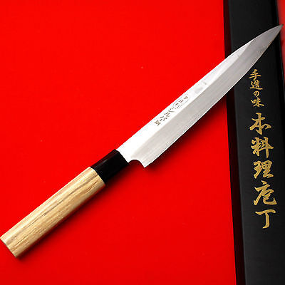 YeopJungRi 21.5cm Knife Sashimi Slicer Sushi Chef Cook CUISINE Made in Korea