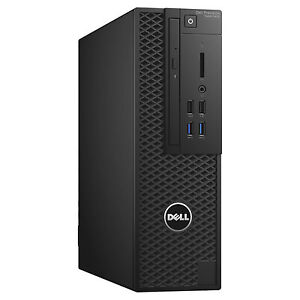 Dell Precision T3420 SFF Workstation Desktop i5-6500 3.6GHz 8GB 1TB 2GB FirePro