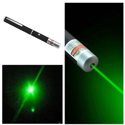 MINI 5mW Laser Powerful Green Laser Pointer Pen Beam Light High Power 532nm High