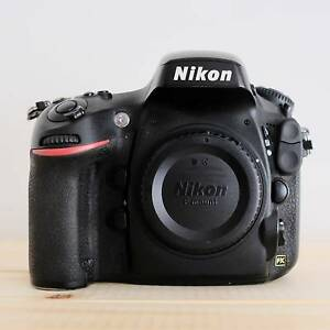 Nikon D800E Body, Low Shutter Count (16.8% used), Extras Included West Footscray Maribyrnong Area Preview