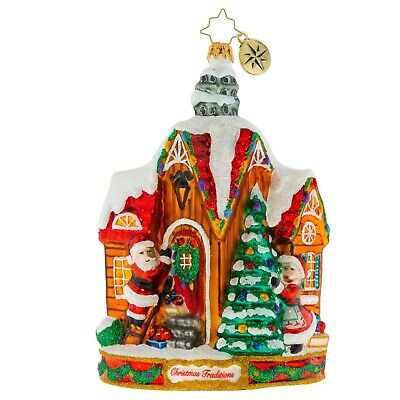 [NEW Christopher Radko DECORATING FOR CHRISTMAS! Christmas Ornament 1020065</Title]