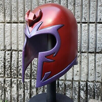 Classic Magneto Inspired Helmet With Crest Life Size Wearable Costume Deluxe HTF - Life Size Costumes