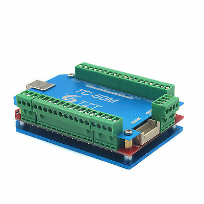 Tc-50m 50khz 6 Axis Stepper Motor Driver Breakout Board Usb Mach3 Usbcnc Board