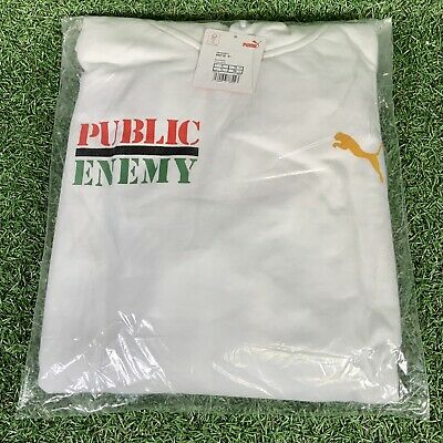 Puma Public Enemy Fight The Power Hoodie Jumper Brand New Sealed Mens Size XL